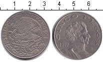 Изображение Монеты Мексика 5 песо 1977 Медно-никель XF