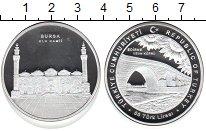 Изображение Монеты Турция 50 лир 0 Серебро Proof-