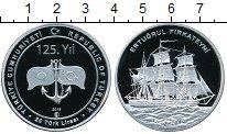 Изображение Монеты Турция 20 лир 2015 Серебро Proof- Парусное судно