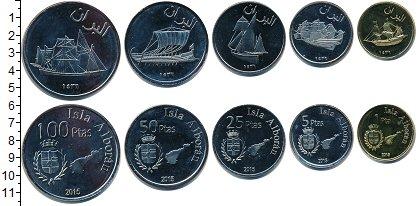 Изображение Наборы монет Альборан Альборан 2015 2015  UNC- В наборе 5 монет ном