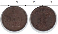 Изображение Монеты Финляндия 1 пенни 1912 Медь XF