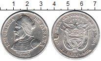 Изображение Монеты Панама 50 сентесимо 1905 Серебро  Реставрация. Портрет