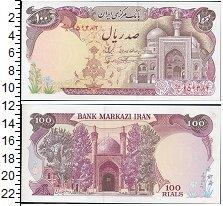 Изображение Боны Иран 100 риал 0  UNC-