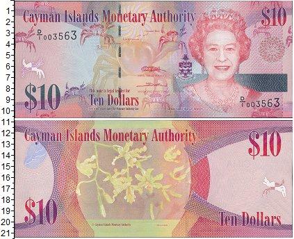 Картинка Банкноты Каймановы острова 10 долларов  0