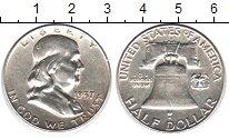 Изображение Монеты США 1/2 доллара 1937 Серебро XF Колокол