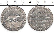 Изображение Монеты Анхальт 1 талер 1852 Серебро XF