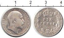 Изображение Монеты Великобритания 6 пенсов 1903 Серебро VF Эдвард VII