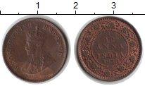 Изображение Монеты Индия 1/12 анны 1930 Медь XF Георг V