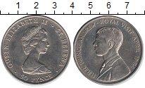 Изображение Монеты Остров Святой Елены 50 пенсов 1984 Медно-никель UNC- Елизавета II. Принц