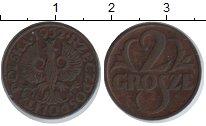 Изображение Монеты Польша 2 гроша 1932  XF