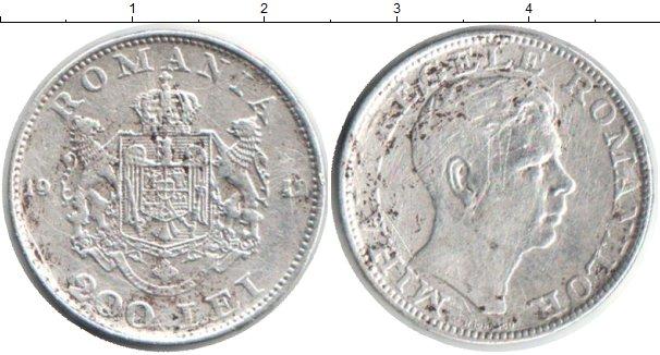Картинка Монеты Румыния 200 лей Серебро 1942