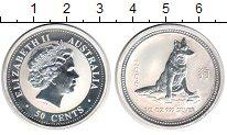 Изображение Монеты Австралия 50 центов 2006 Серебро Proof- Елизавета II. Год со