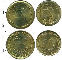 Изображение Наборы монет Таиланд Таиланд 1980 1980  XF Рама IX. В наборе 2