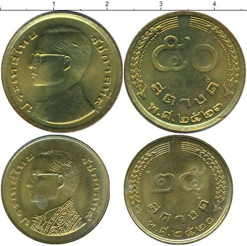 Картинка Наборы монет Таиланд Таиланд 1980  1980