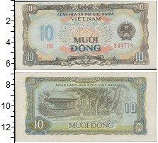 Изображение Банкноты Вьетнам 10 донг 0  UNC-