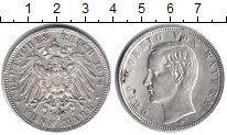 Изображение Монеты Бавария 5 марок 1913 Серебро VF Отто