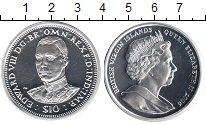 Изображение Монеты Виргинские острова 10 долларов 2006 Серебро Proof- Елизавета II. Эдвард