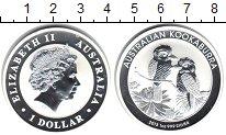 Изображение Монеты Австралия 1 доллар 2013 Серебро Proof- Елизавета II. Коокаб