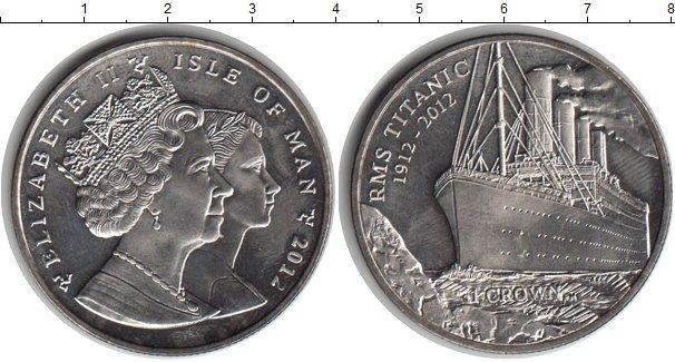 Картинка Монеты Остров Мэн 1 крона Медно-никель 2012