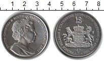 Изображение Мелочь Сендвичевы острова 2 фунта 2011 Медно-никель UNC- Елизавета II.
