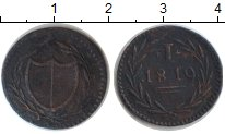 Изображение Монеты Франфуркт 1 пфенниг 1819 Медь VF Токен