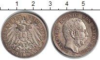 Изображение Монеты Германия Саксония 2 марки 1902 Серебро XF
