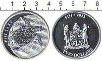 Изображение Монеты Фиджи 2 доллара 2013 Серебро Proof-
