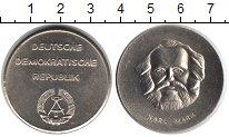 Изображение Монеты ГДР медаль 1983 Медно-никель XF Карл Маркс. Портрет.