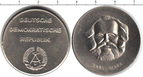 Картинка Монеты ГДР медаль Медно-никель 1983