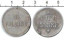 Изображение Монеты Германия 1 марка 0 Алюминий  Пивная марка