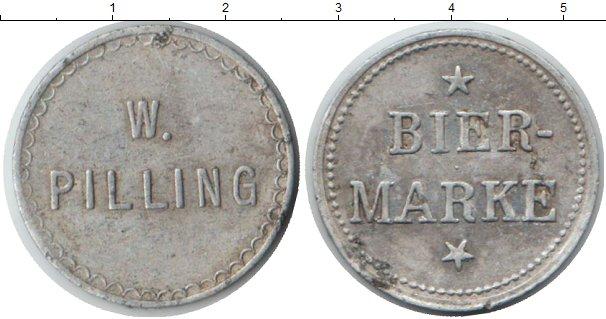 Картинка Монеты Германия 1 марка Алюминий 0