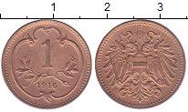 Изображение Мелочь Австрия 1 геллер 1901 Медь XF