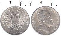 Изображение Мелочь Австрия 2 шиллинга 1935 Серебро UNC-