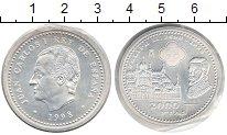 Изображение Монеты Испания 2000 песет 1998 Серебро XF 400 лет со дня смерт