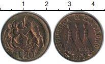Изображение Монеты Сан-Марино 20 лир 1975  XF