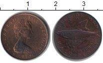 Изображение Монеты Остров Мэн 1/2 пенни 1977 Медь XF