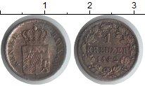 Изображение Монеты Бавария 1 крейцер 1842 Серебро VF