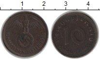 Изображение Монеты Третий Рейх 10 пфеннигов 1938  XF А