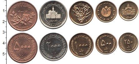 Изображение Наборы монет Иран Иран 1389-1390 0  UNC- В наборе 5 монет ном