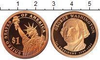 Изображение Мелочь США 1 доллар 2007  Proof