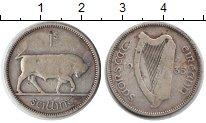 Изображение Монеты Ирландия 1 шиллинг 1935 Серебро VF Бык