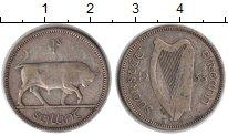 Изображение Монеты Ирландия 1 шиллинг 1933 Серебро VF Бык