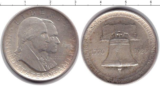 Картинка Монеты США 1/2 доллара Серебро 1926