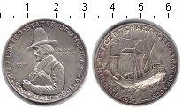 Изображение Монеты США 1/2 доллара 1921 Серебро XF Пилгрин