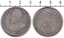 Изображение Монеты Панама 50 сентесимо 1904 Серебро VF