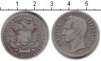 Изображение Монеты Венесуэла 1 боливар 1919 Серебро VF