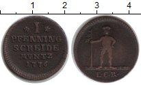Изображение Монеты Ганновер 1 пфенниг 1776 Медь VF