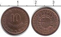 Изображение Монеты Мозамбик 10 сентаво 1961 Медь XF
