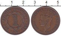 Изображение Мелочь Белиз 1 цент 1947 Медь XF-
