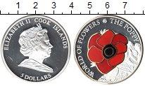 Изображение Монеты Острова Кука 5 долларов 0 Серебро Proof- Елизавета II. Мак